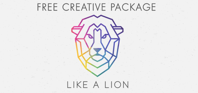 "Free Creative Package: ""Like a Lion"""