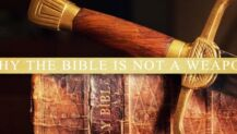 Bible is not a weapon