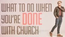 done with church