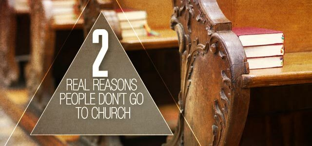 reasons people don't go to church