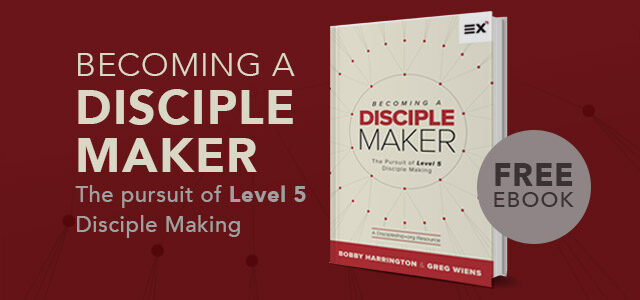 "Free eBook: ""Becoming a Disciple Maker"" by Harrington and Wiens"