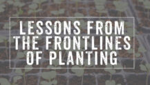 10 Real-Life Lessons from the Frontlines of Planting