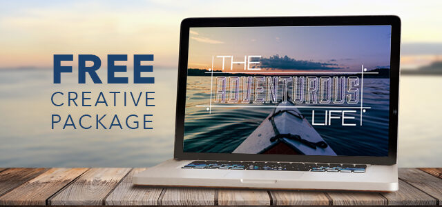 "Free Creative Package: ""The Adventurous Life"""
