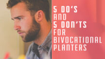 5 Do's and 5 Don'ts for Bi-vocational Planters