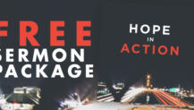 "Free Sermon Package: ""Hope in Action"""