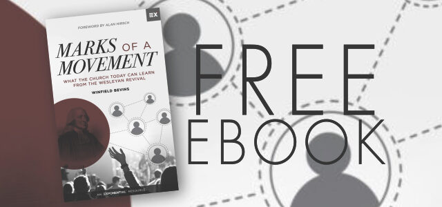 """Free eBook: """"Marks of a Movement"""" by Winfield Bevins"""