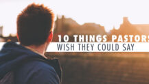 Real Talk Monday: 10 Things Pastors WISH They Could Say